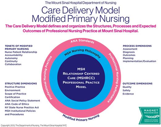 how to write a model of care